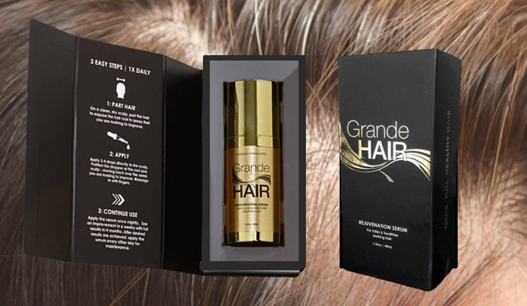 GrandeHAIR Rejuvenation Serum, Strengthens, Thickens for Fuller Look