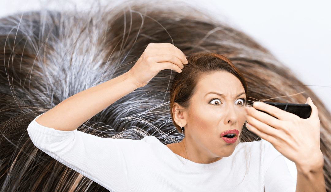 Can Stress Cause Gray Hair to Occur Prematurely?