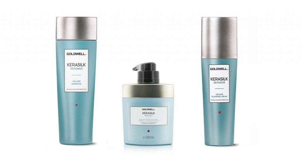 4 Luxury Product Lines That Address Dull and Lifeless Hair Goldwell Kerasilk Repower