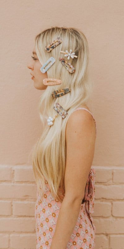 Best Hairstyles with Trendy Hair Barrettes