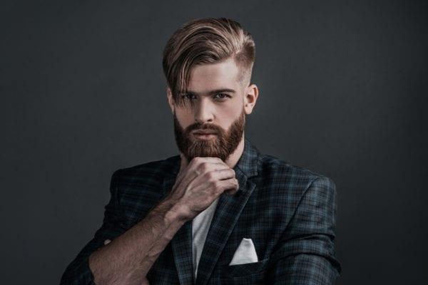 15 Comb Over Fade Haircut Ideas, Beard & Mustache
