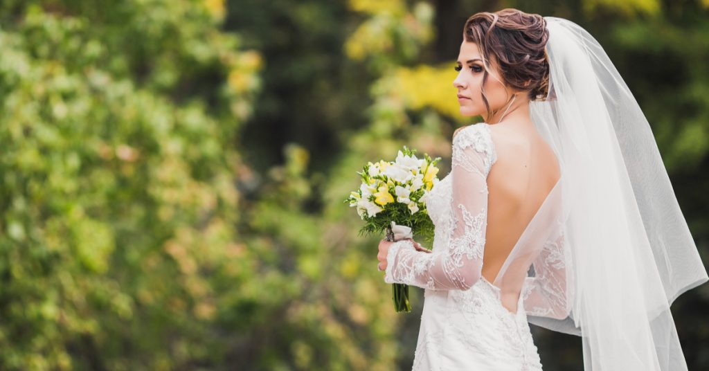 10 Veil Types for Your Bridal Style, Two-TierVeil